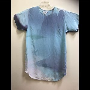 WILFRED Hobo x Henry Roy Silk Dress Tie Dye Rare